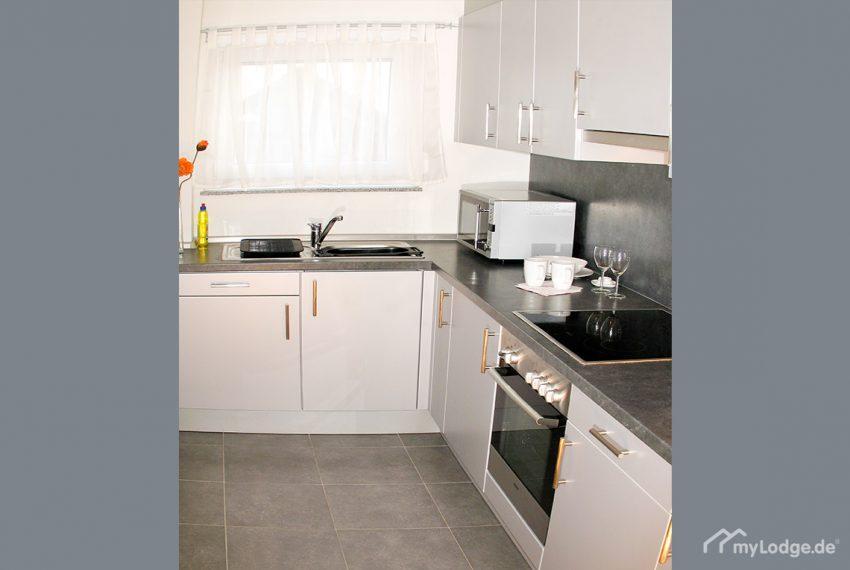 Furnished Apartment Boeblingen Sindelfingen Kitchen